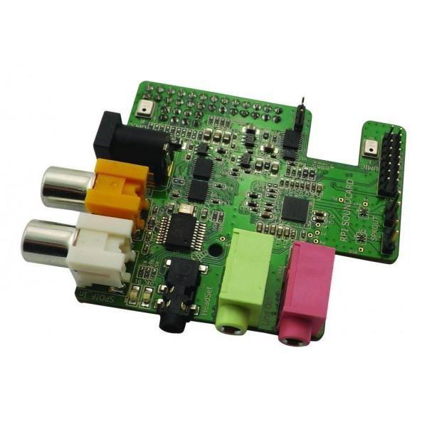 Wolfson Audio Card for Raspberry Pi - autostatic com