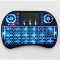 Mediacenter keyboard draadloos -  Zwart - mini i8+ - QWERTY