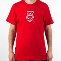 t-shirt rood - Adult-size - XL