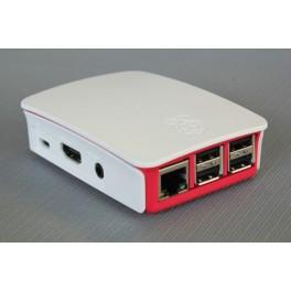 Officiële Raspberry Pi 3/3B+ behuizing - Wit-Roze
