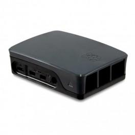 Officiele Raspberry Pi 4 behuizing - zwart-grijs