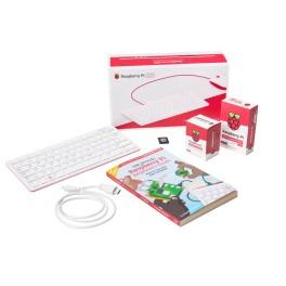 Raspberry Pi 400 (QWERTY / US) - Kit, inclusief muis, EU voeding, boek, kabel en 16Gb SD-kaart