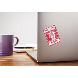 Sticker Raspberry Pi - Make cool stuff