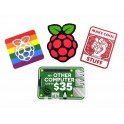 Stickerset Raspberry Pi