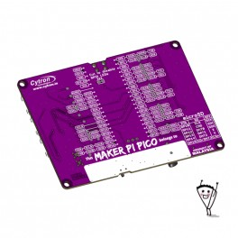 Maker-Pi-Pico, zonder Raspberry Pi Pico
